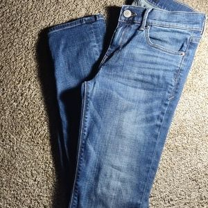 Performance Stretch-skinny--mid-rise Jeans